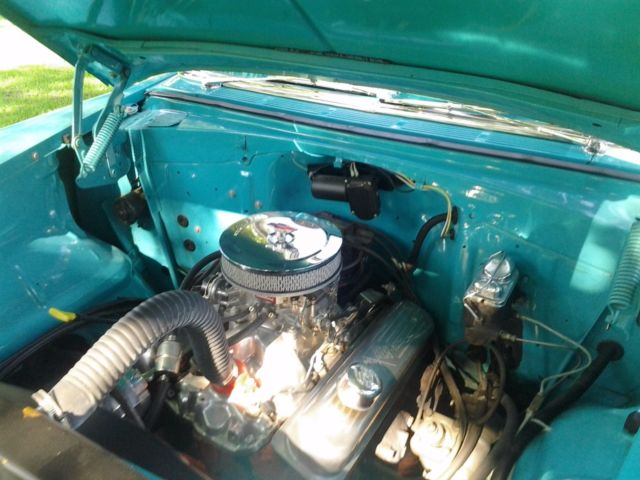 55 Chevy 210 Sedan Turquoise And White Frame Off 08 09