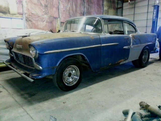 Chevy Bel Air Dr Hardtop Hot Rod Project Gasser Rat Rod Drag Race Car