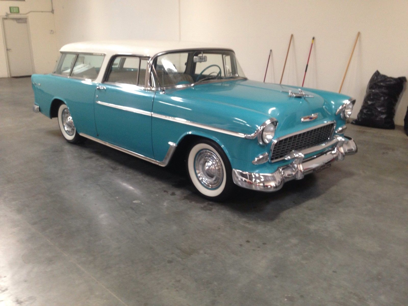 1955 Chevrolet Nomad Unrestored Project Car For Sale: 55 Chevy Nomad 55 56 57 Chevy Belair