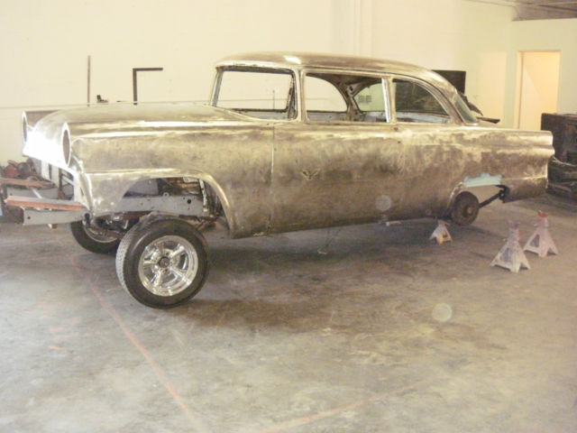 55 Ford Gasser 430 Lincoln Powered Old Skool