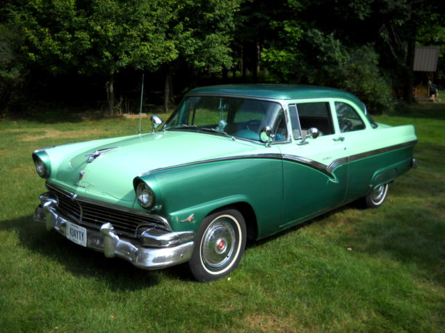 Used Cars For Sale In Oklahoma >> 56 Fairlane 2-Door Club Sedan 312ci Solid Oklahoma Car #s Matching Turnkey NR - Classic Ford ...