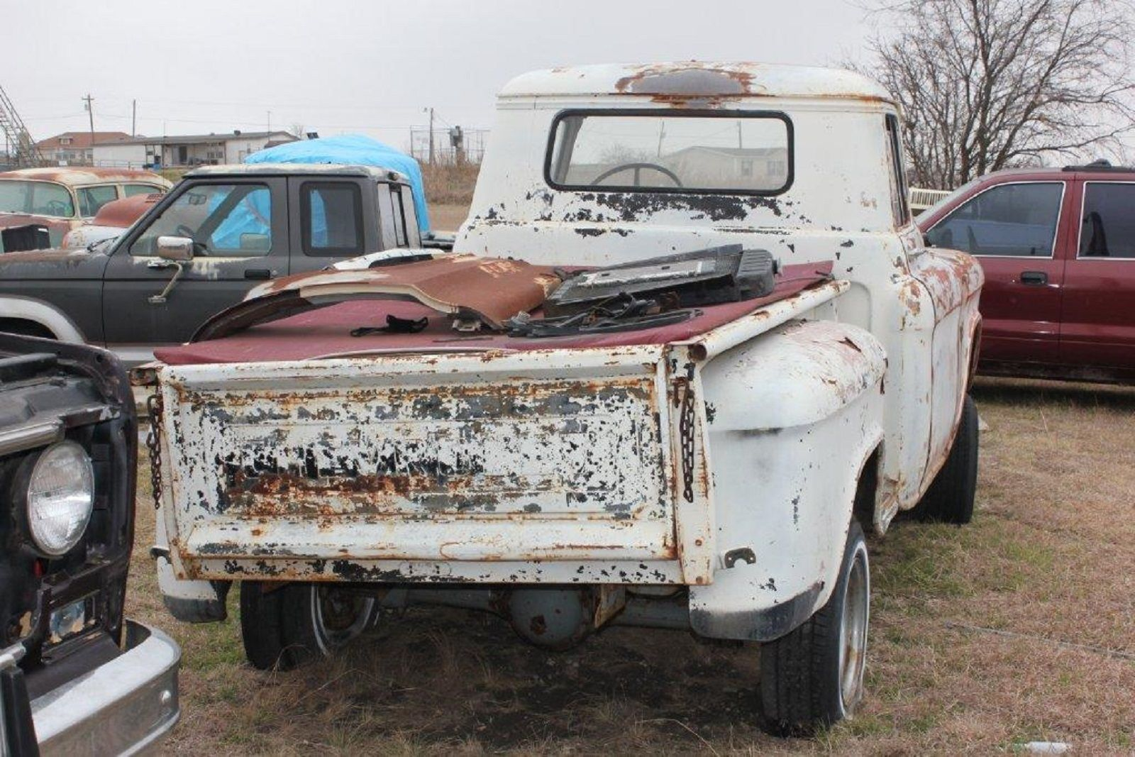 57 chevy trucks for sale in texas autos post. Black Bedroom Furniture Sets. Home Design Ideas