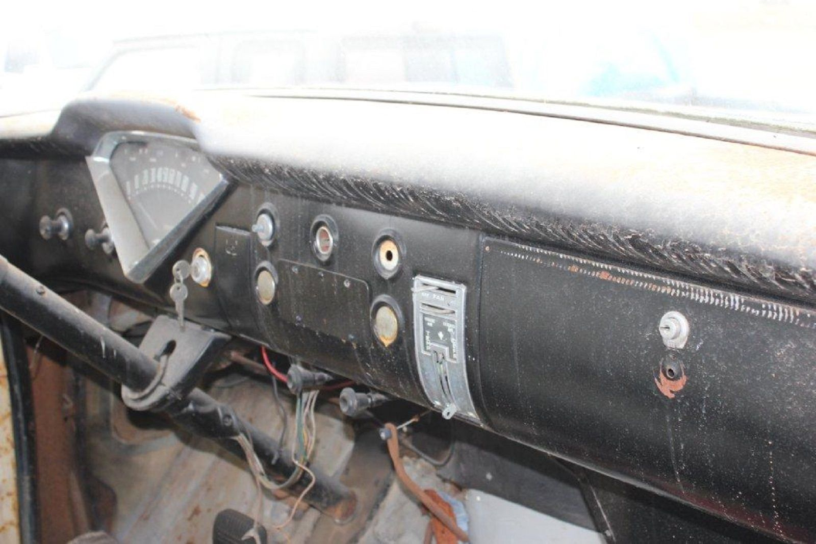 57 Chevy 3100 Task Force NAPCO 4x4 Pickup Truck / No Engine