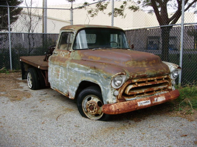 57 chevy 3600 pickup classic chevrolet other pickups 1957 for sale. Black Bedroom Furniture Sets. Home Design Ideas