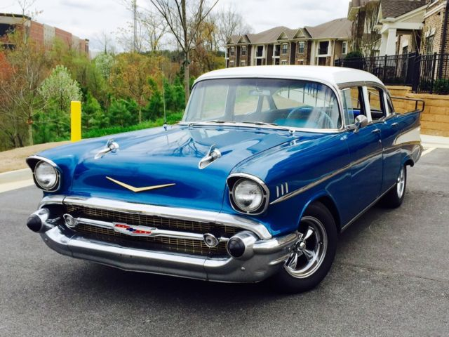 57 chevy belair 4 door fun car 1957 classic for cruising for 1957 chevy belair 4 door sedan for sale