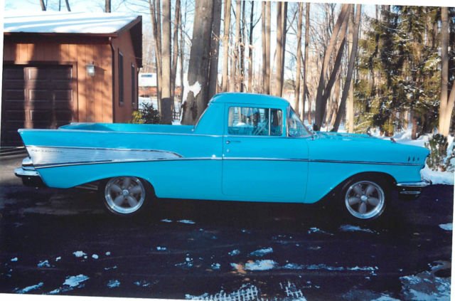57 39 chevy custom coverted wagon to el camino classic chevrolet bel air 150 210 1957 for sale. Black Bedroom Furniture Sets. Home Design Ideas