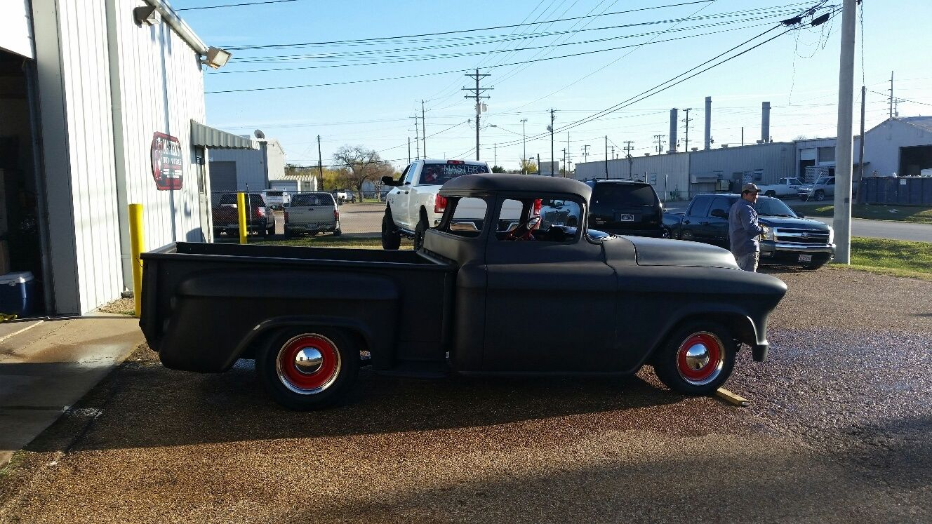 57 Chevy Truck Big Window Chopped Rum Runner Classic Chevrolet 1957 Paint Colors Other Pickups