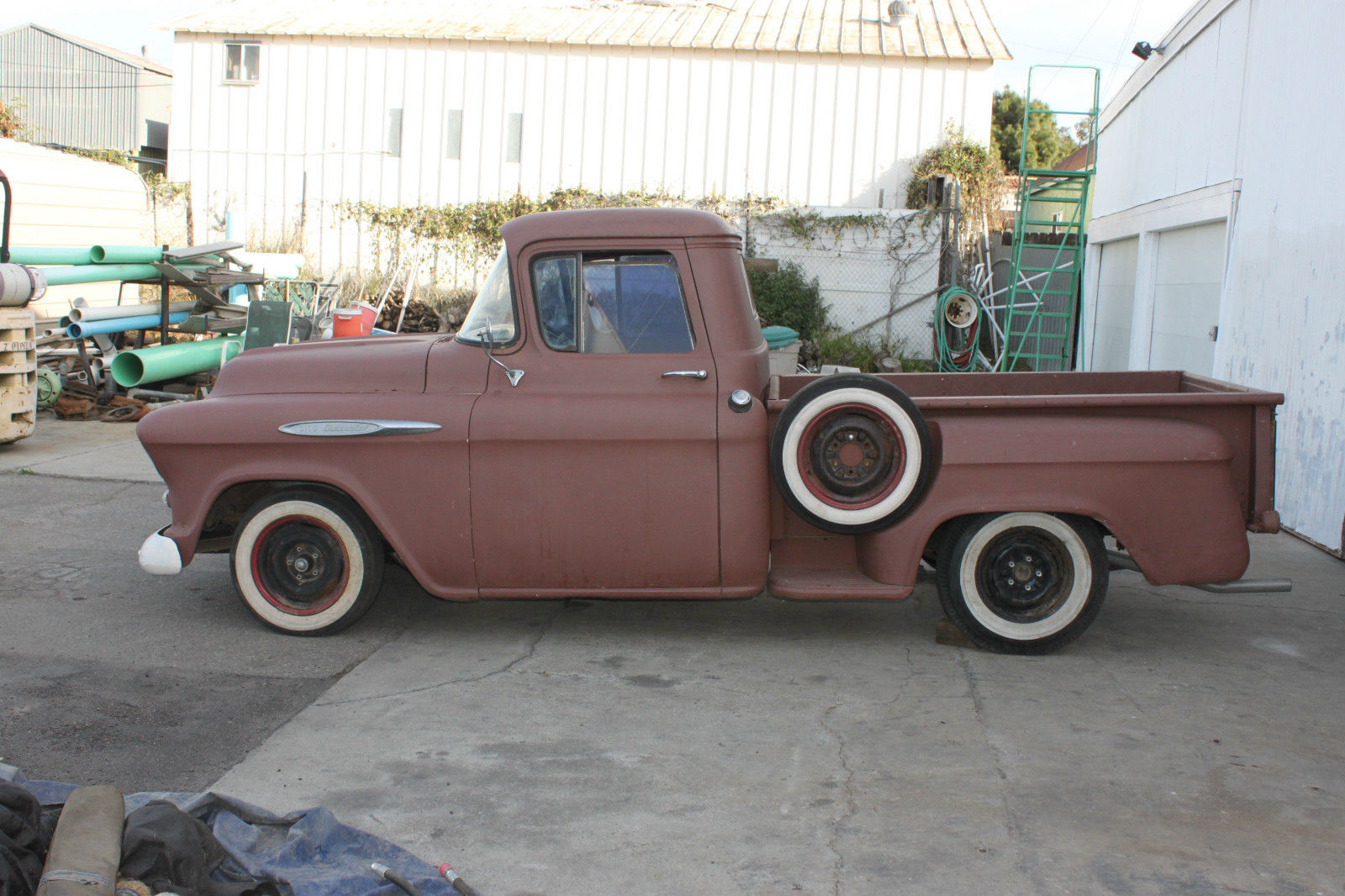 57 Chevy Truck Rat Rod Hot Classicno Motor Or Tranny Classic 1957 Pickup Sale Chevrolet Other Pickups For