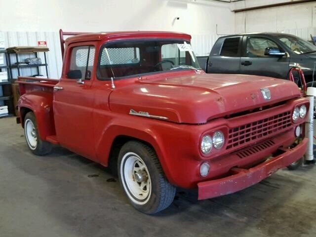 Classic Ford Bronco For Sale >> 58 ford F series Truck Great shape, original! - Classic Ford F-100 1958 for sale