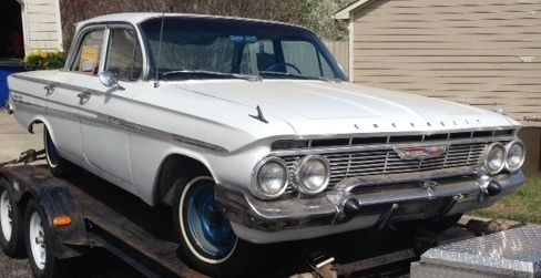 61 Impala 4 door, 3-speed, 6 cyl. Good Condition - Classic ...