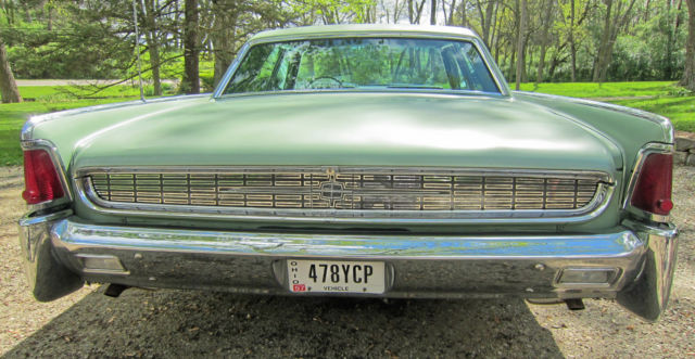 Used Cars For Sale Dayton Ohio >> 62 LINCOLN CONTINENTAL SEDAN - ORIGINAL - AIR CONDITIONING ...