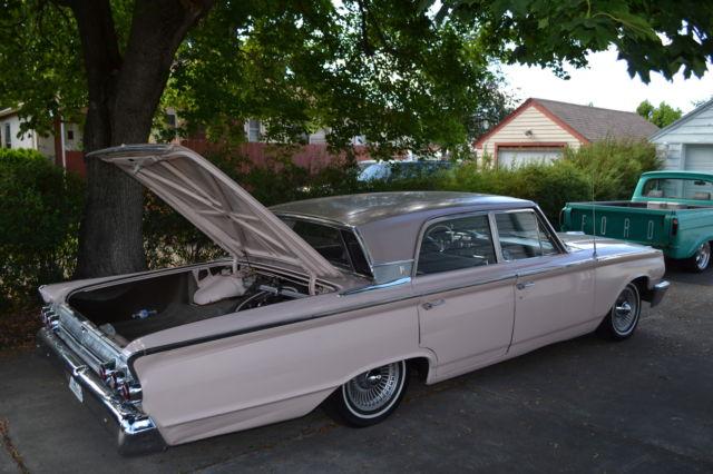 63 Mercury Monterey Breezeway  64,000 original miles