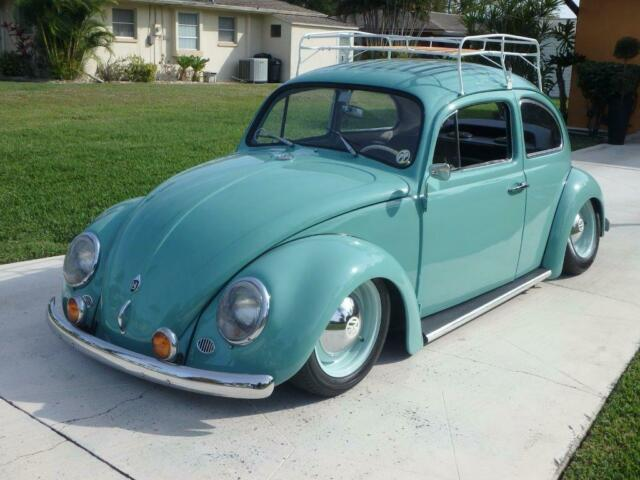 volkswagen beetle bug classic air ride suspension restored air cooled classic