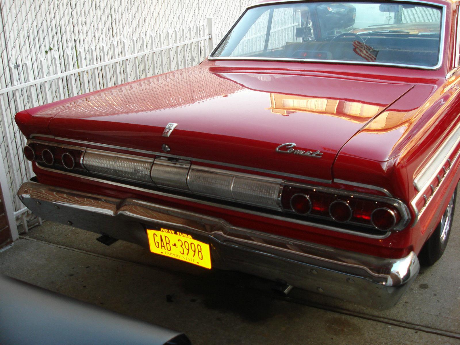 64 Mercury Comet Caliente Classic Mercury Comet 1964 For