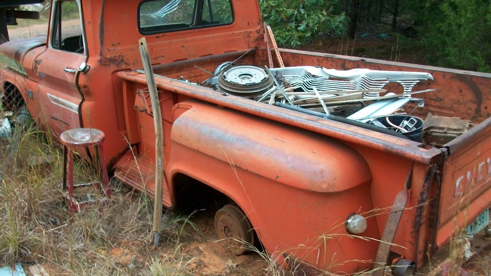 Terre Haute Chevrolet >> 65 Chevrolet long bed c10 step side - Classic Chevrolet C-10 1965 for sale