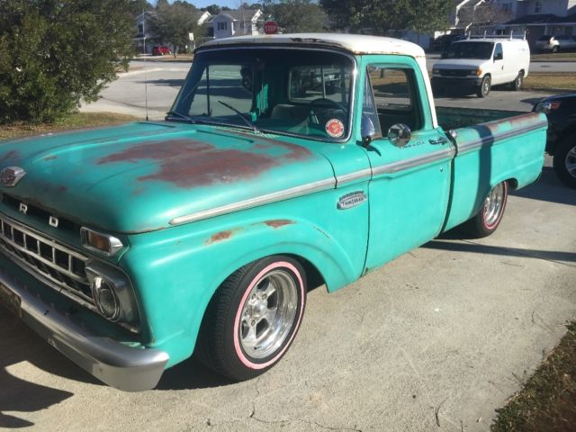 65 f100 patina truck classic ford f 100 1965 for sale. Black Bedroom Furniture Sets. Home Design Ideas