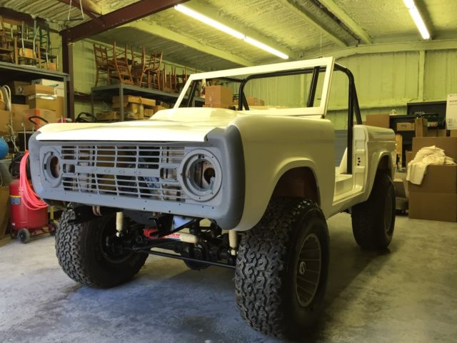 66-77 Ford Bronco Custom 4x4, Lifted, New Body, Chassis