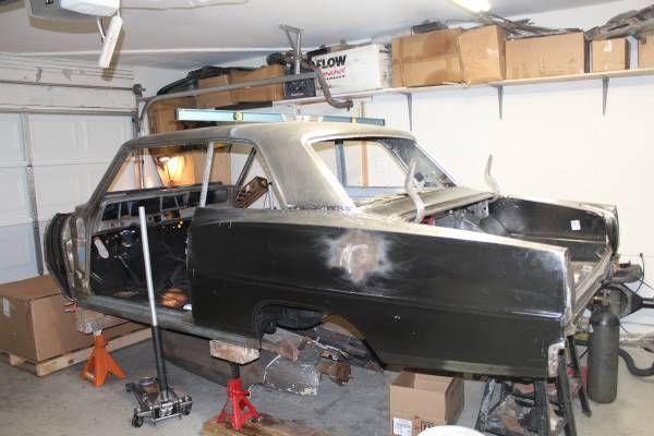 67 Chevy Nova Post project car - Classic Chevrolet Nova 1967
