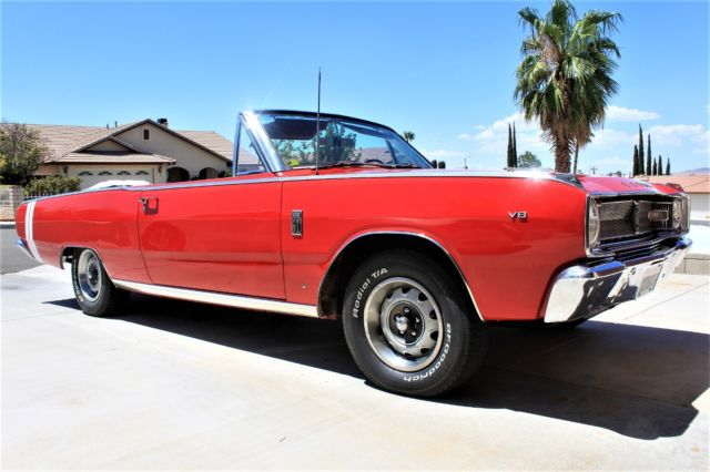 67 Dodge Dart Convertible Gt Rare Only 1 Of 1628 Produced Classic