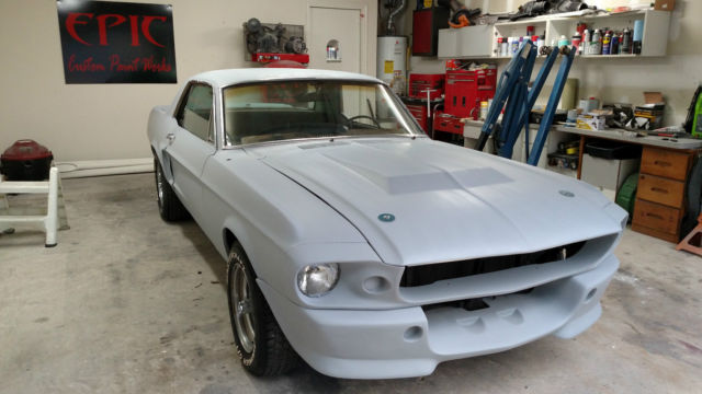 67 eleanor coupe shelby project v8 classic ford mustang 1967 for sale. Black Bedroom Furniture Sets. Home Design Ideas