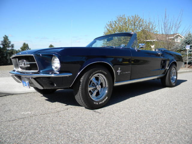 67 mustang convertible a code classic ford mustang 1967 for sale. Black Bedroom Furniture Sets. Home Design Ideas