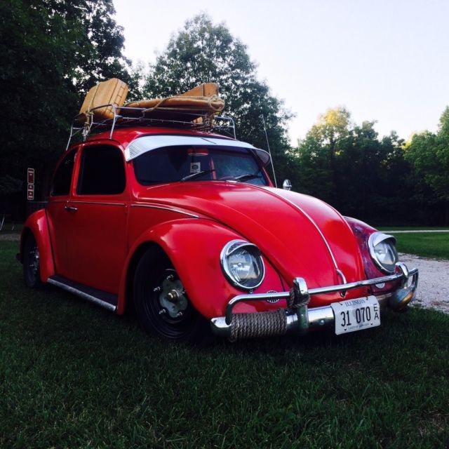 Vw 1600 Beetle For Sale: 67 VW Beetle- Willwood Disc Brakes, Full Front Beam