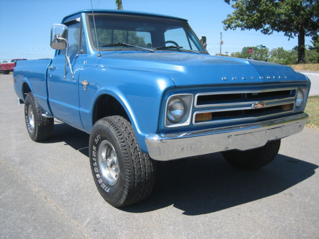 68 4x4 chevy c k pickup shortbed 1972 1971 1970 1969 1967 cheyenne super cst classic chevrolet. Black Bedroom Furniture Sets. Home Design Ideas
