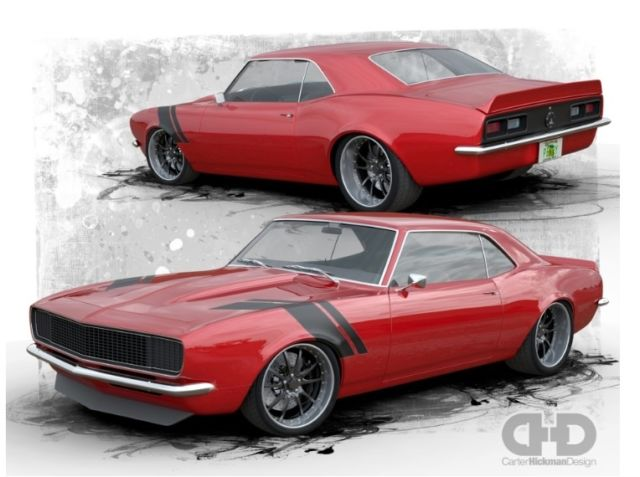 68 camaro pro touring classic chevrolet camaro 1968 for sale. Black Bedroom Furniture Sets. Home Design Ideas