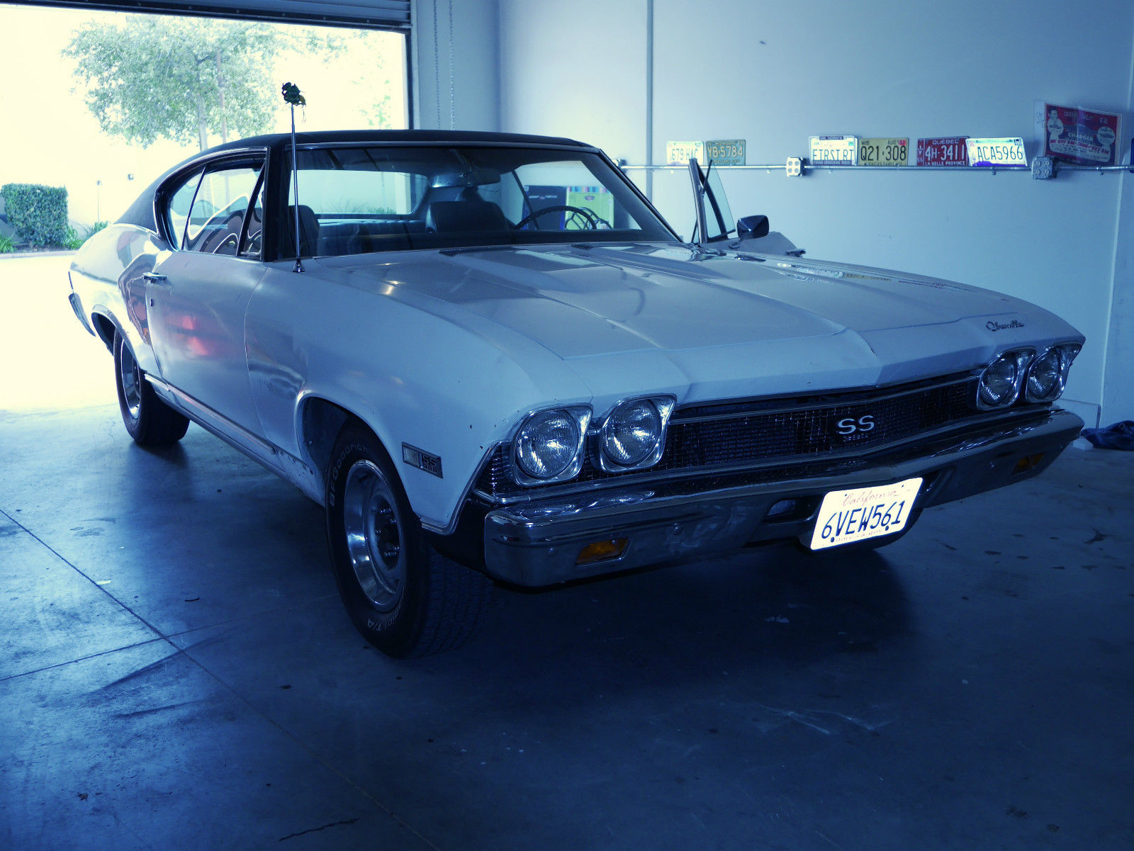 68 Chevelle Ss Auto Numbers Motor A C Pwr Windows Tilt 138