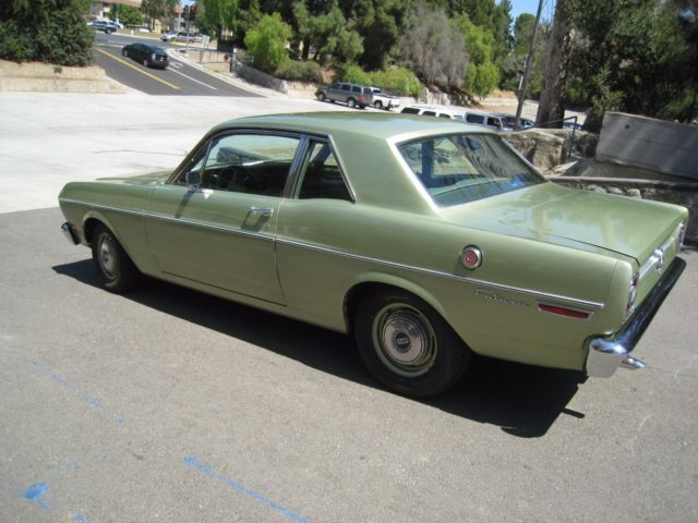 68 Ford Falcon Futura Coupe Classic Ford Falcon 1968 For