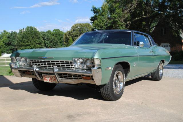 68 impala custom coupe   classic chevrolet impala 1968 for sale