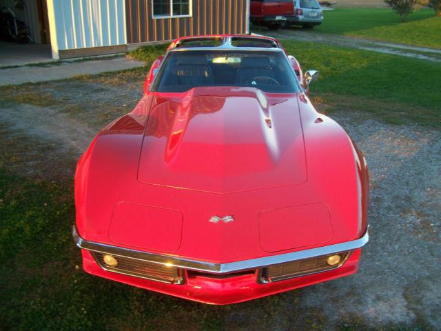 69 Chevy Corvette Stingray w/ Cowl Hood Side Pipes #s ...