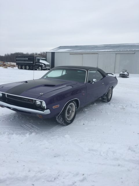 70 Dodge Challenger Rt Se Not A Clone Classic Dodge