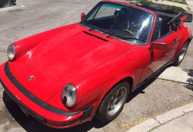 70 Porsche 911 carrera turbo cabriolet tribute 930 ...