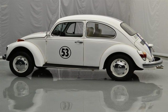 Vw Beetle White With Herbie Decals New Cc Cyl Spd New White Interior