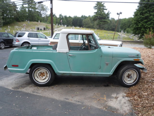 Jeep Jeepster Commando Pickup From Cali In Ma X Power Steering And Brakes on Jeepster Commando
