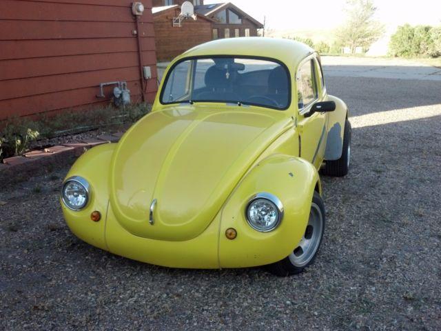 71 Super Beetle Custom Rod- Not Just A Bug  - Classic Volkswagen Beetle