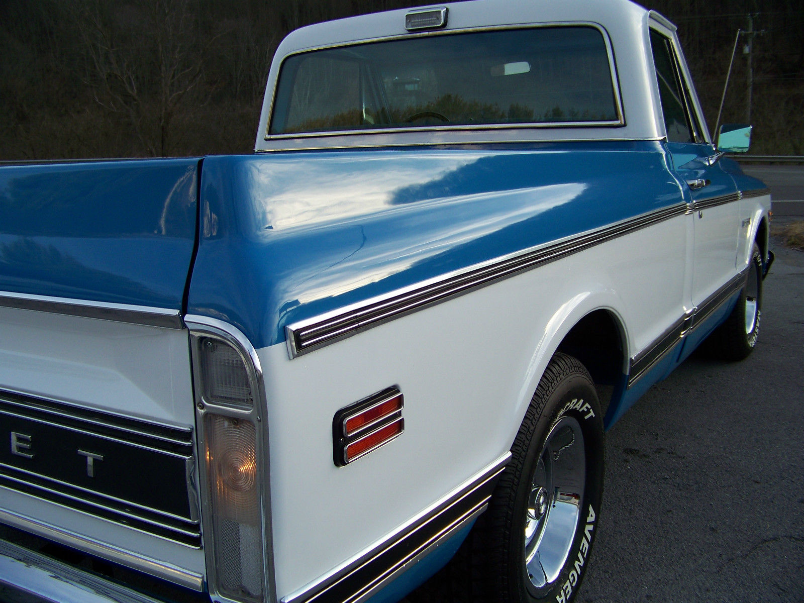72 CHEVROLET C10 SHORT BED 350 AUTOMATIC VERY NICE ...