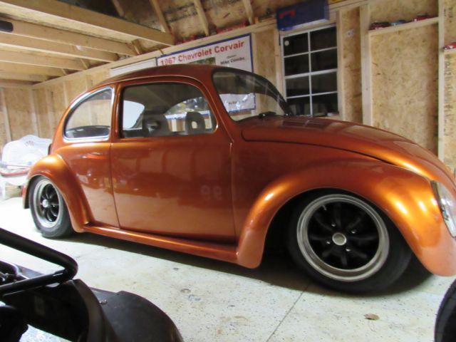 72 custom vw volkswagen bug suicide doors air bagged
