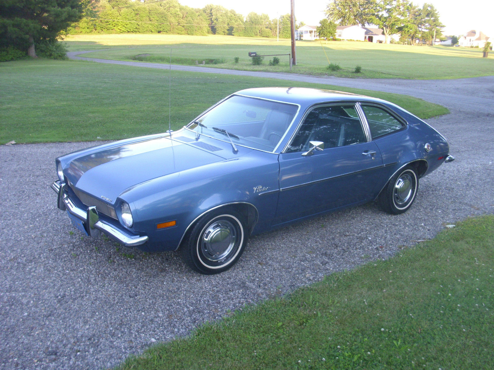 72 Ford Pinto ... Original California Car