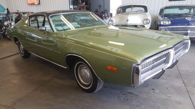 72 Green 1 Owner Charger Roadrunner Satellite Mopar
