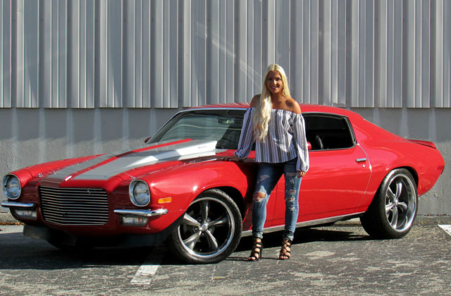 Chevrolet Camaro Ss >> 73 CAMARO SPLIT BUMPER PRO TOURING RESTOMOD 396 A/C PS QUAD DISC FULLY RESTORED - Classic ...