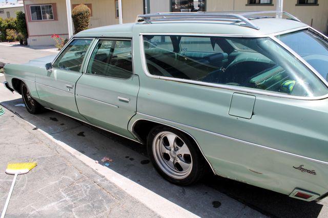 73 Chevy Clamshell Station Wagon Classic Chevrolet Impala