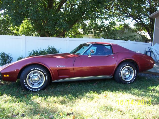 Used Car Value By Vin >> 74 stingray TEE top - Classic Chevrolet Corvette 1974 for sale