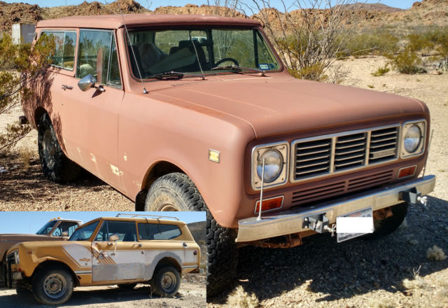 Classic Cars Denver >> '76 & '78 International Harvester Scout II's - Classic International Harvester Scout 1976 for sale