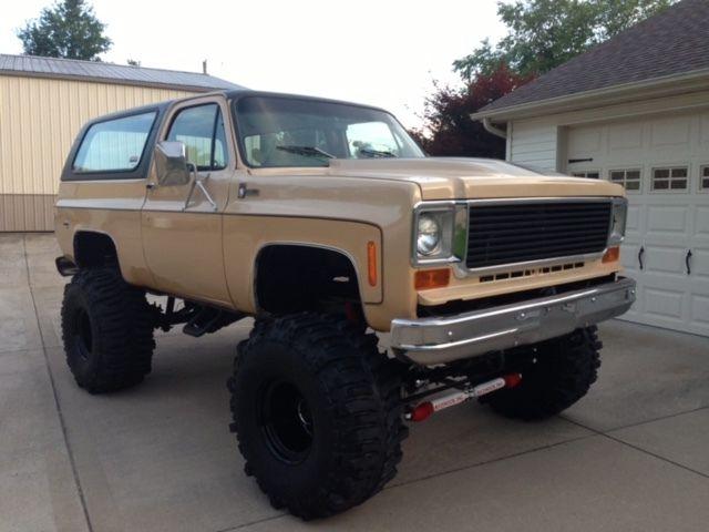 76 Chevrolet Blazer K5 Big Block Classic Chevrolet