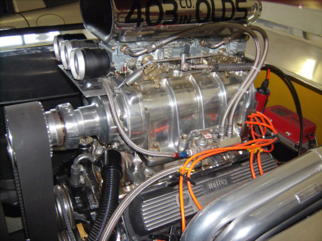 78 olds 442  street rod of the year  mid blown 403 engine