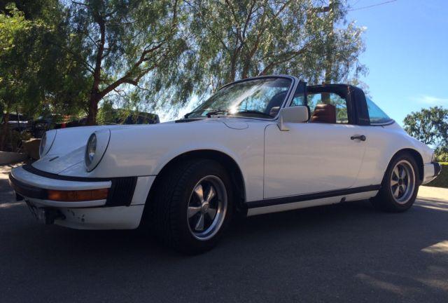 78 Porsche 911 Sc Targa 100 Original Rebuilt Engine No