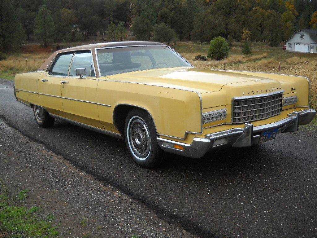 80k Original Miles One Owner Window Sticker Paint Barn 1973 Lincoln Town Car Continental Towncar