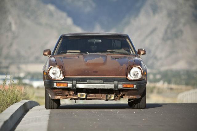 81 Datsun 280zx Turbo 2seater Coupe W L28et